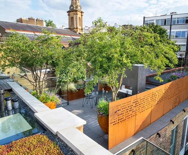 花园式屋顶绿化