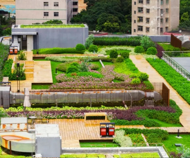 组合式屋顶绿化