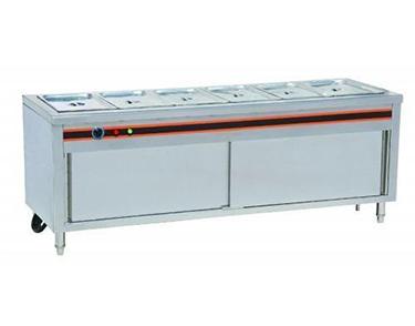不锈钢保温售卖台柜