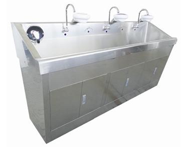 不锈钢消毒洗手池