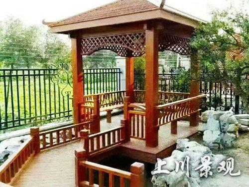 岳阳木质凉亭