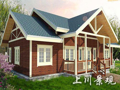 岳阳景区木屋