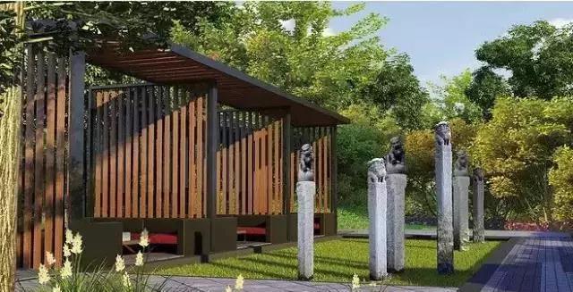 长沙别墅庭院设计
