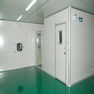四川食品廠無菌車間施工