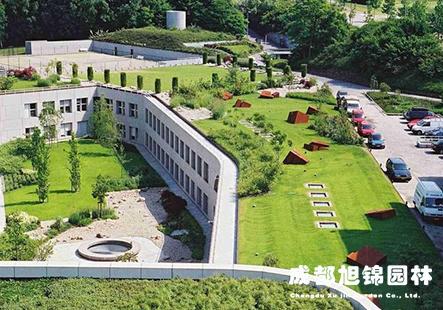 成都屋顶花园绿化