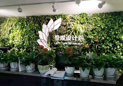 中国建筑西南设计院景观院植物墙