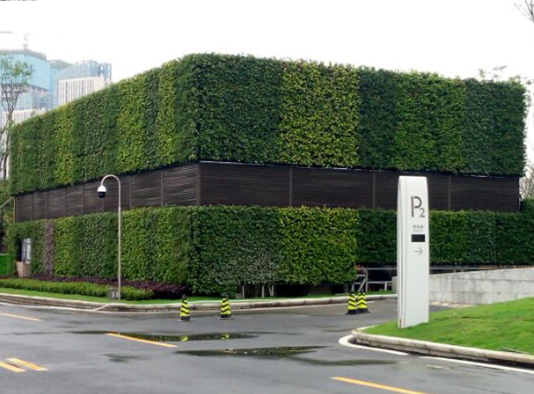 垂直绿化设计施工