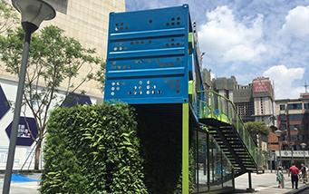 华茂广场垂直綠化墙