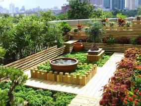 成都别墅屋頂綠化公司