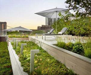 成都屋頂綠化设计