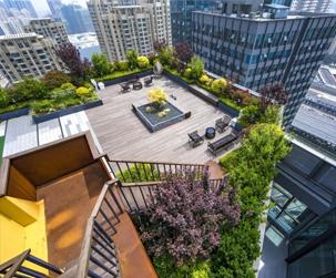 成都商业屋頂綠化