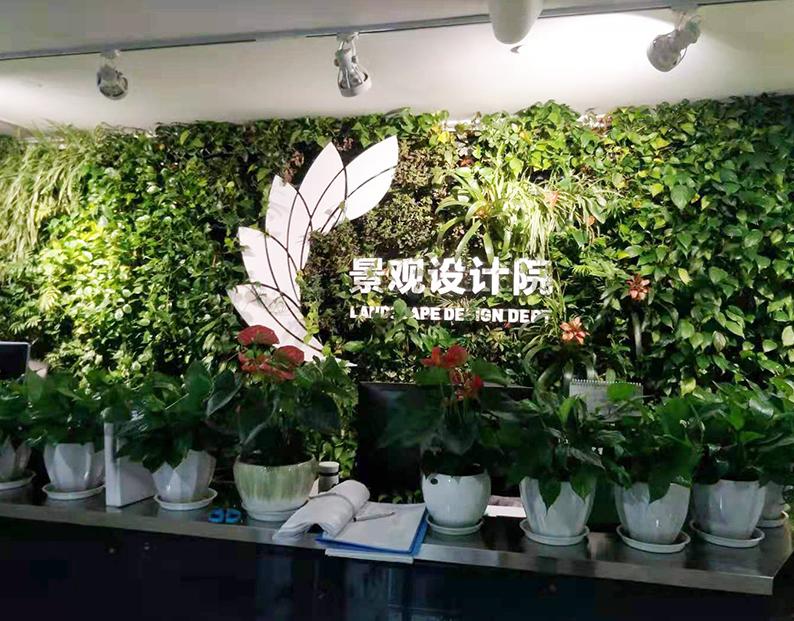 中国建筑西南设计院植物墙