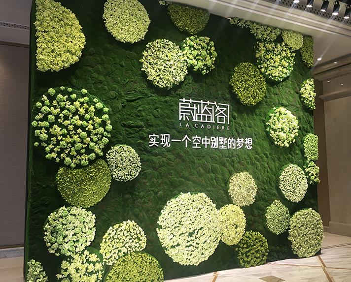卡地亚花艺植物墙