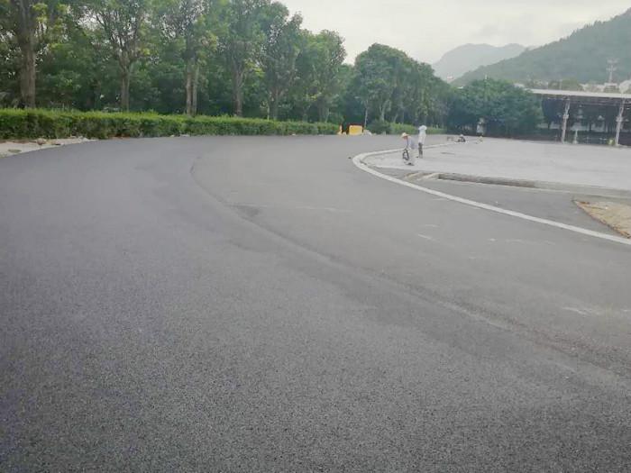 晋安区彩色沥青跑道
