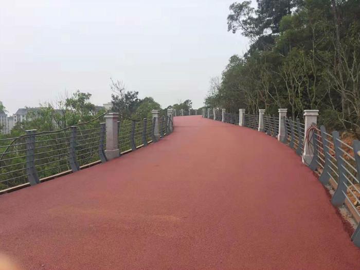 福州彩色沥青道路