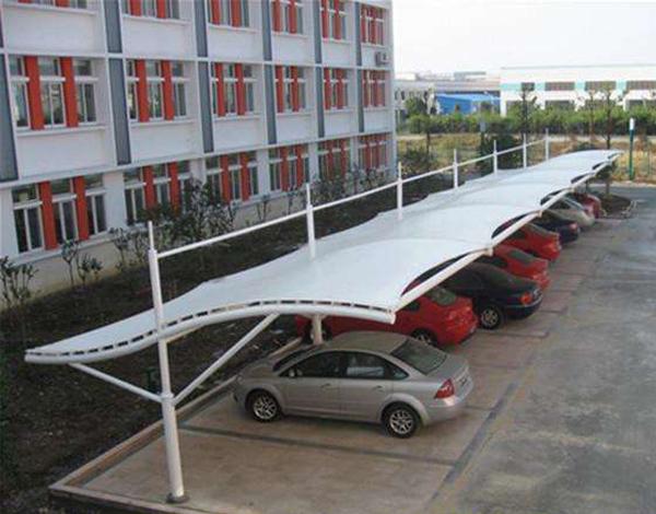 沈阳膜结构车棚-学校膜结构车棚