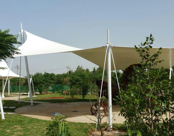 景区膜结构遮阳棚