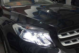 奔驰gla200汽车灯光改装