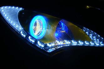 保时捷LED灯改装