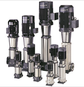 格兰富水泵CR立式多级泵