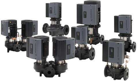 格兰富TP、TPE立式管道泵