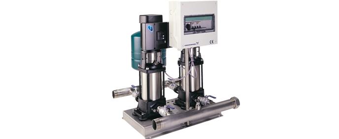 格兰富 Hydro Multi-E 增压系统