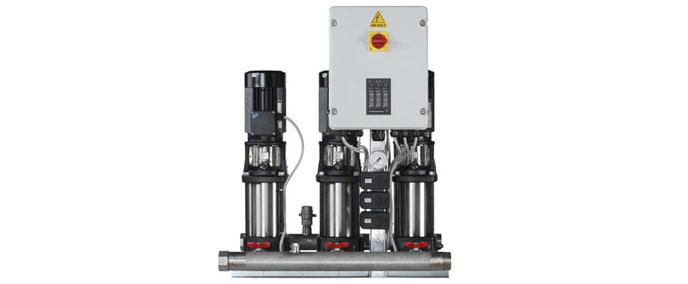 格兰富Hydro Multi-S 增压装置