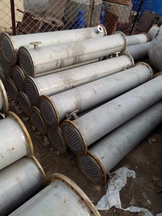 山东济宁9成新10吨二手不锈钢冷凝器哪家价格低质量好