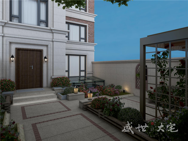 沈阳别墅庭院设计
