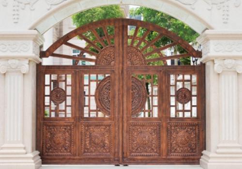 福州钢木装甲门