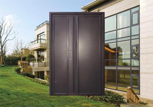 铸铝装甲门