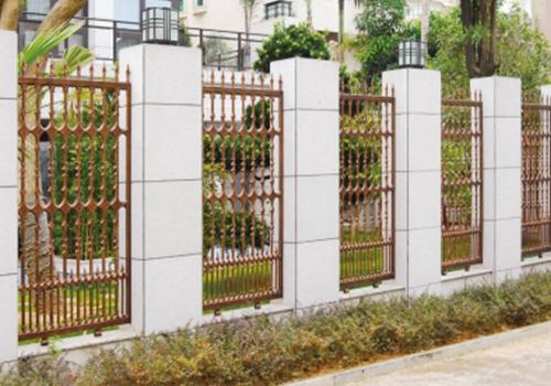福州铸铝围墙栏杆
