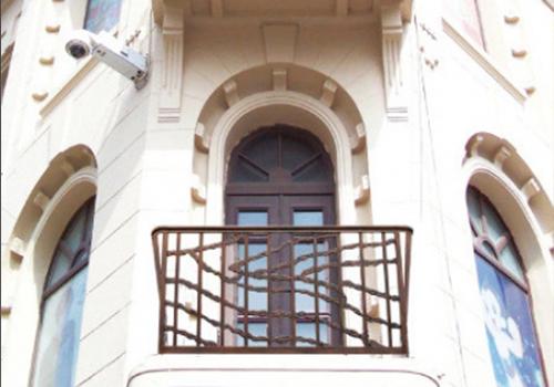 中式铸铝阳台栏杆
