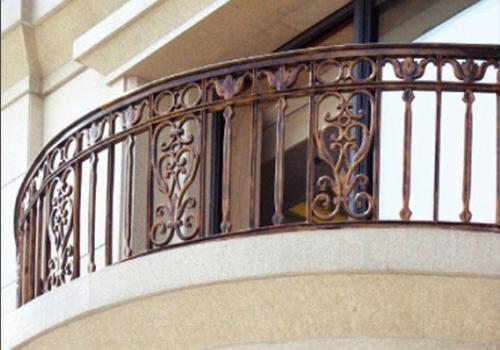 福州铸铝阳台栏杆
