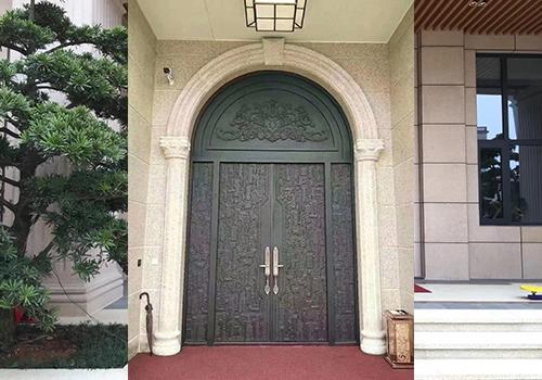 鋁木裝甲門