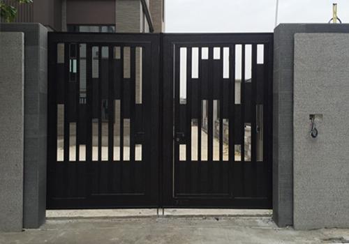 鑄鋁別墅庭院門