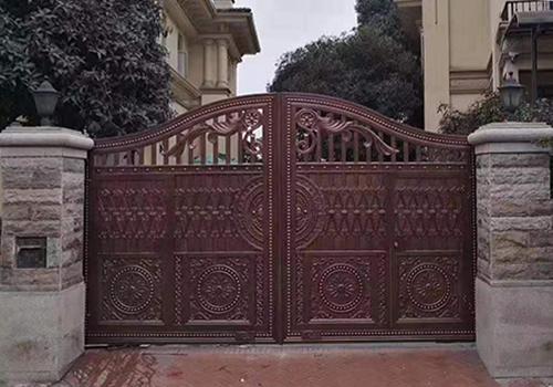福州铸铝大门