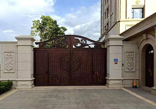 花园别墅铸铝门