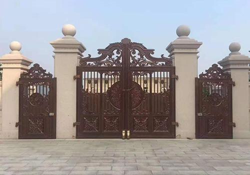 福州鑄鋁庭院門