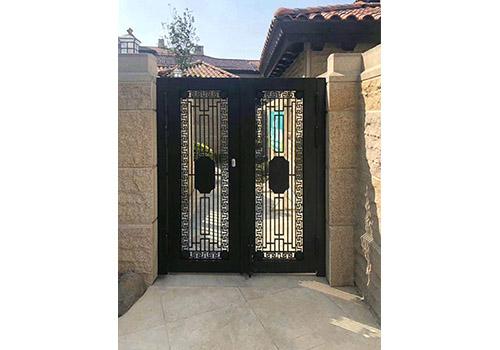 別墅鑄鋁庭院門