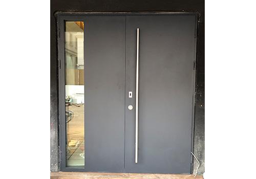 铸铝门防盗门