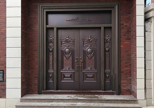 铸铝精雕门