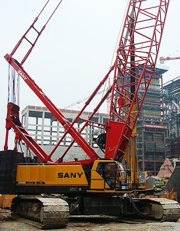 履带吊建筑施工作业要注意一些什么