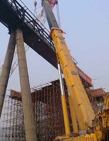 重钢集团通廊吊拆