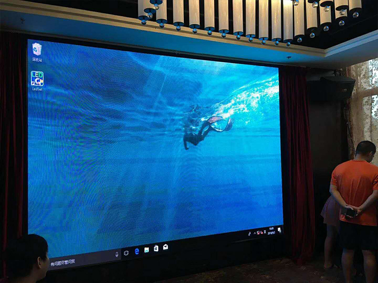 酒店室内P3LED显示屏