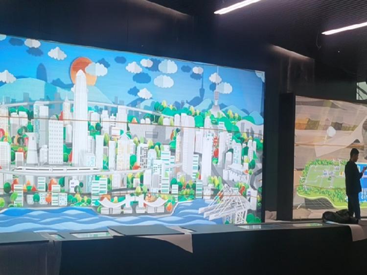 洲明室外p3全彩led显示屏