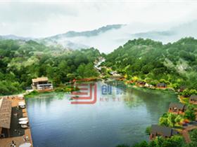 张家界锦泰生态养老休闲度假山庄概念规划