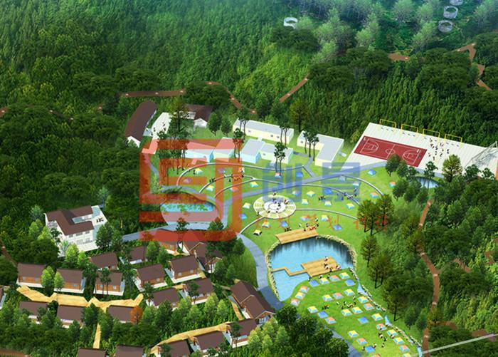 黑麋峰森林国际露营公园体育旅游规划