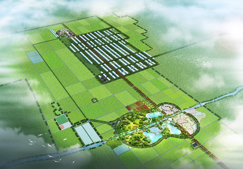 西安中冠牡丹生態文化園田園綜合體規劃