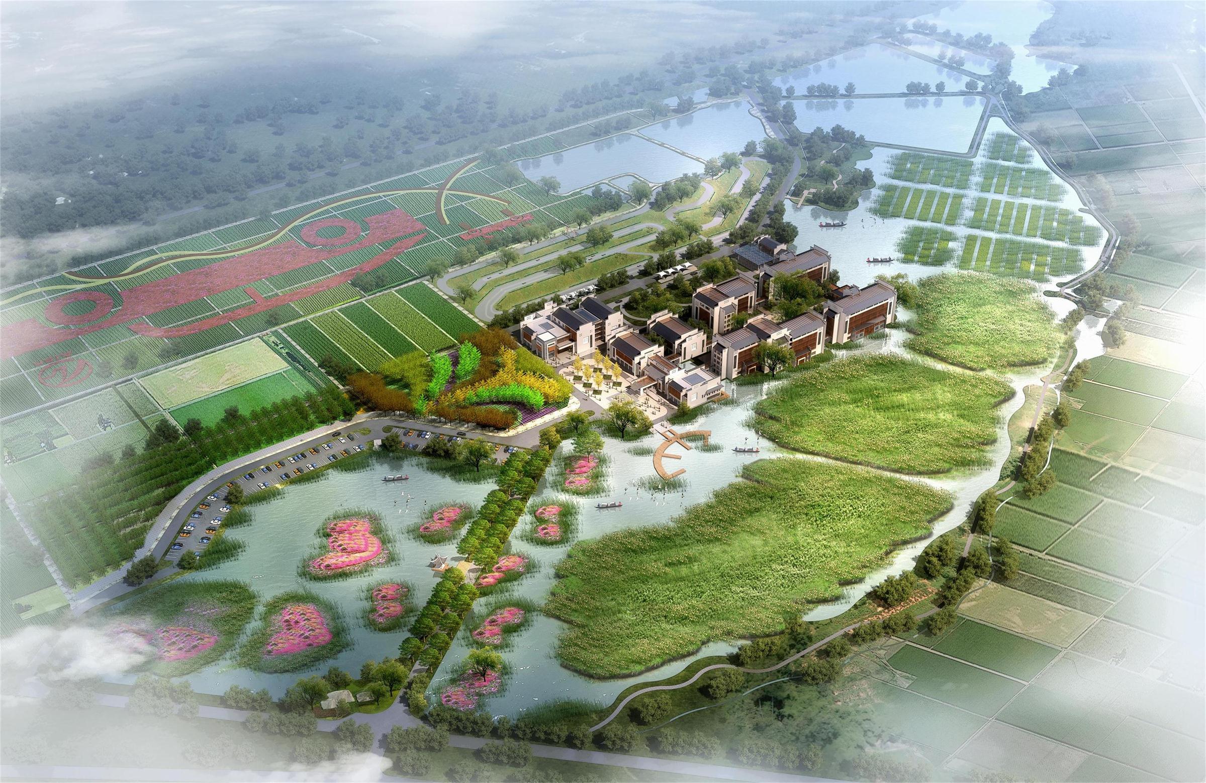 望城靖港汽车科技生态园概念性规划